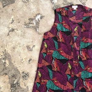 NWT LulaRoe Colorful Layering Vest